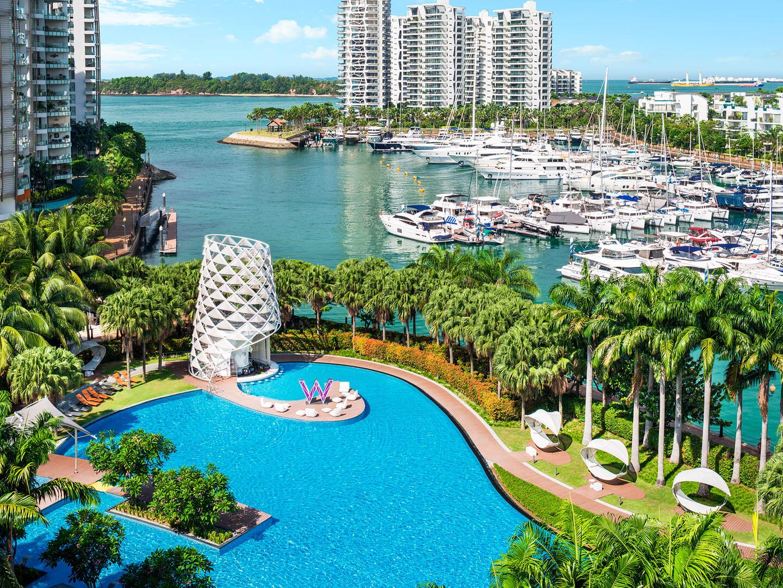 W シンガポール WET